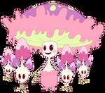 Shiinotic and Morelull - Pokemon SM