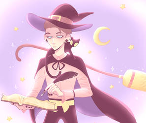 Witch David by carau