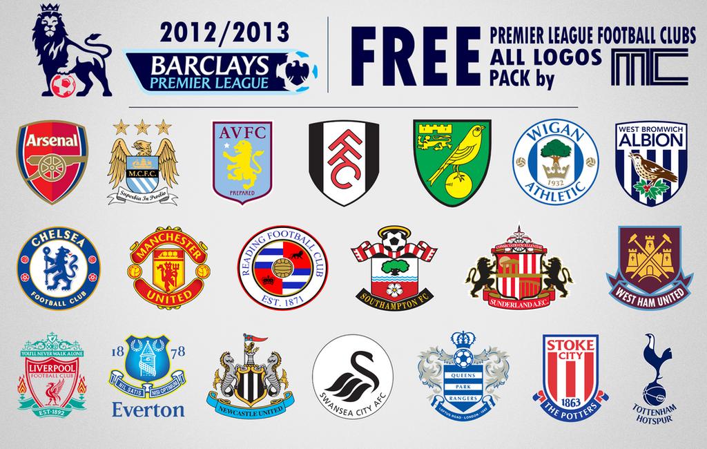 Premier League Clubs: Club Badge (merged)