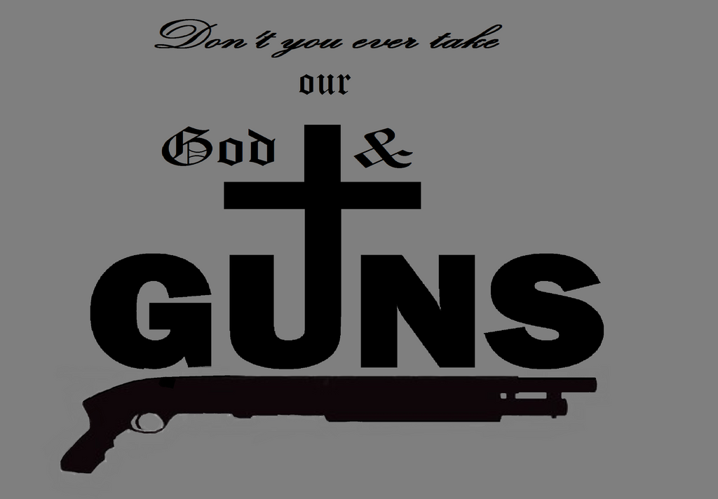 God and Guns by Kieth-Wolfe