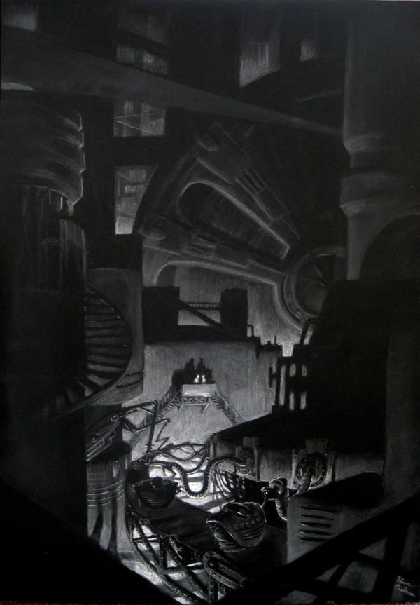 The Machine Age 3 by Elena-Ciolacu