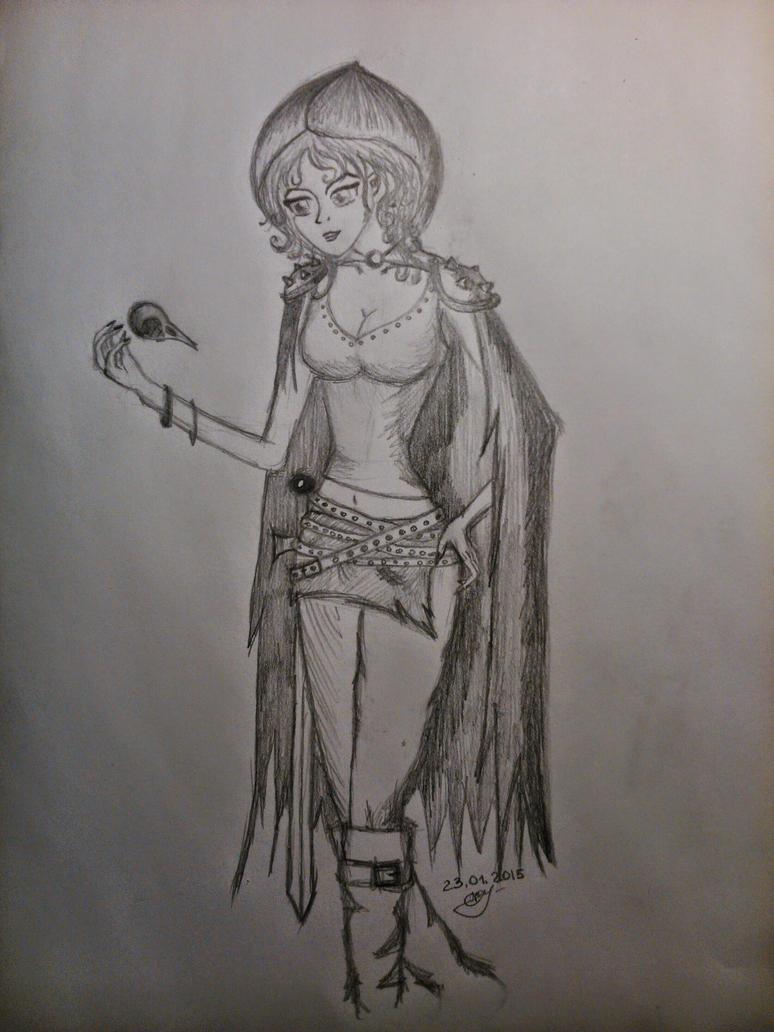 Yennefer (She, warrior 3) by Helga-Victim