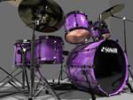 3d Drumset
