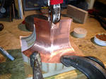 Building a Copper Flare Port Photo 02