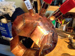 Building a Copper Flare Port Photo 04