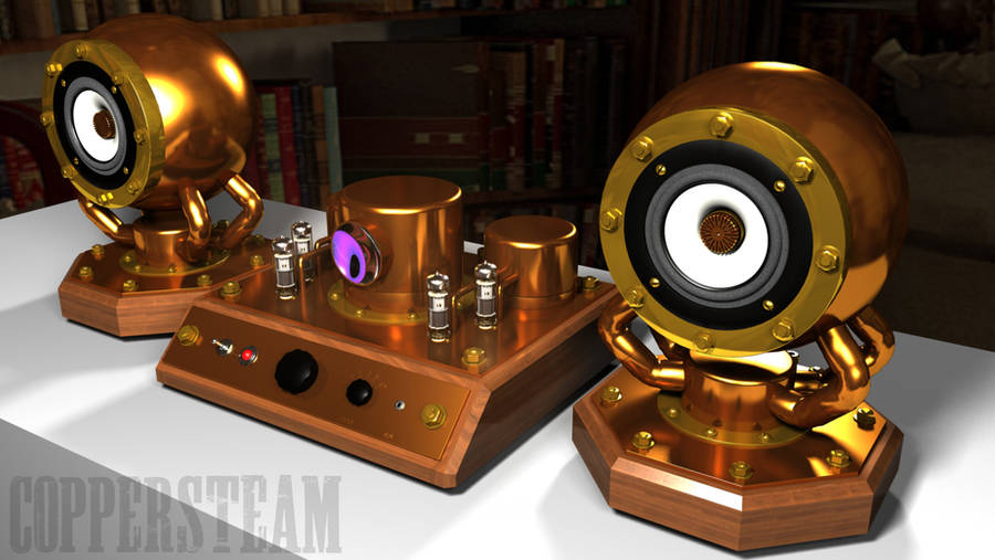 SteamAmp 2 Concept by AEvilMike