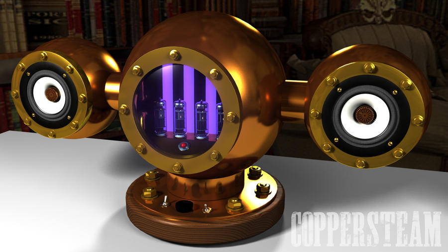 The SteamAmp Boom Concept by AEvilMike