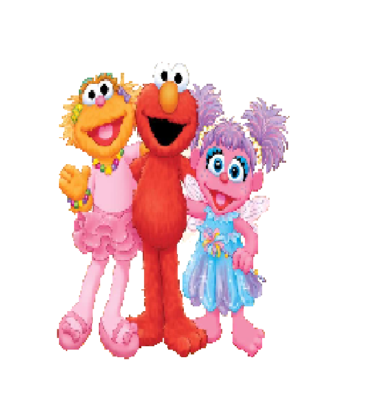 Elmo With Zoe And Abby Cadabby By Andrewteel213 On Deviantart