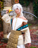 Sharrkan . Swordsmanship is Better by Kyo-kun90
