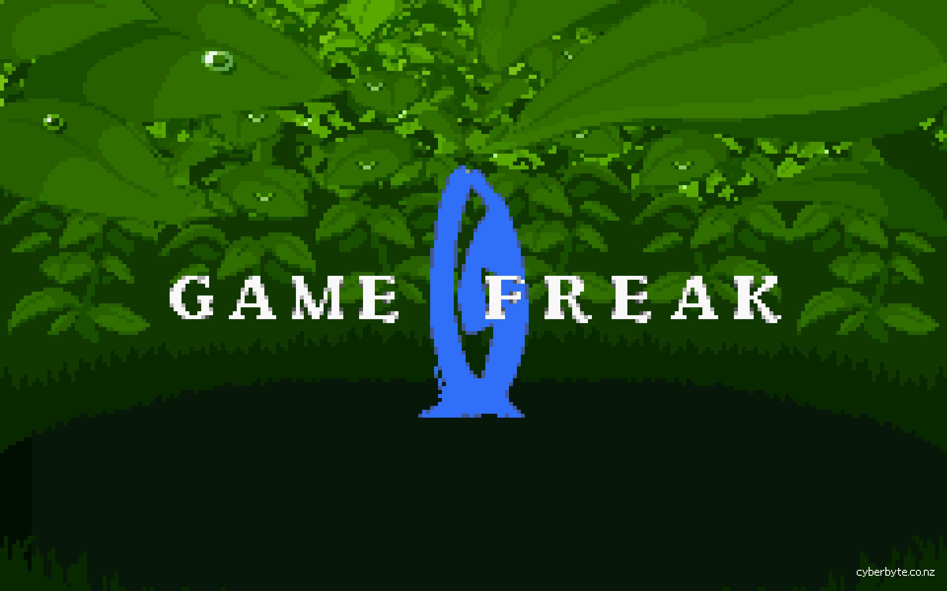 Game Freak Logo Wallpaper Emerald by cyberbyte13