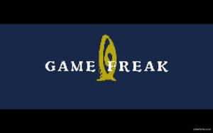 Game Freak Logo Wallpaper FireRed by cyberbyte13