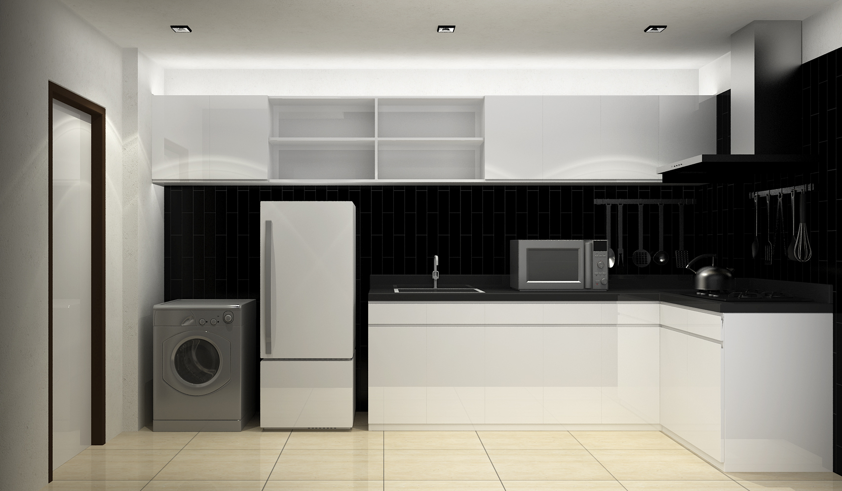 ... GD Model House Kitchen By Ab4966