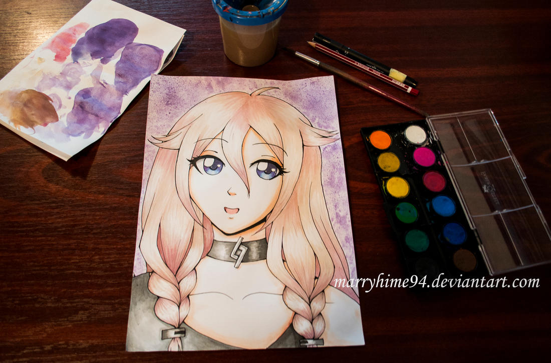 IA watercolor by Marryhime94