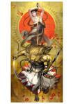 sisi-ou Lion king by TakayamaToshiaki