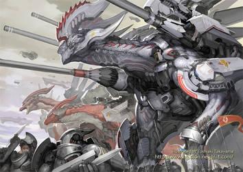 Dragon by TakayamaToshiaki