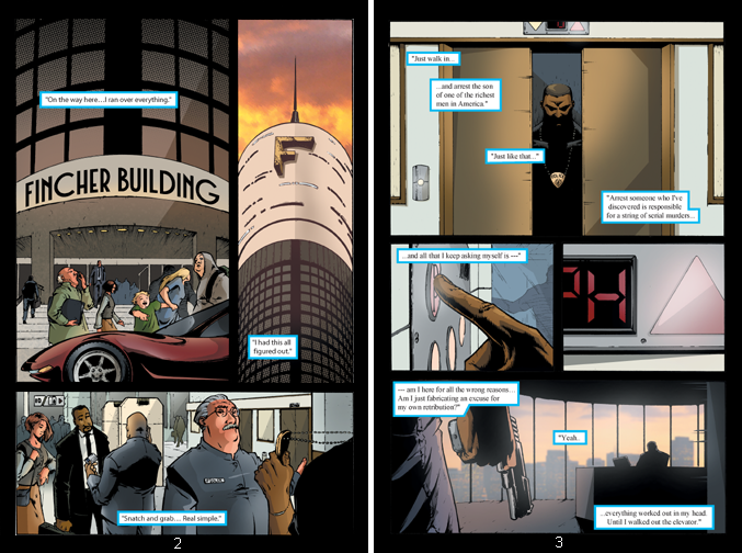 Inheritors 1 pages 2 and 3 by xmoor