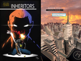 Inheritors 1 cover and page 1