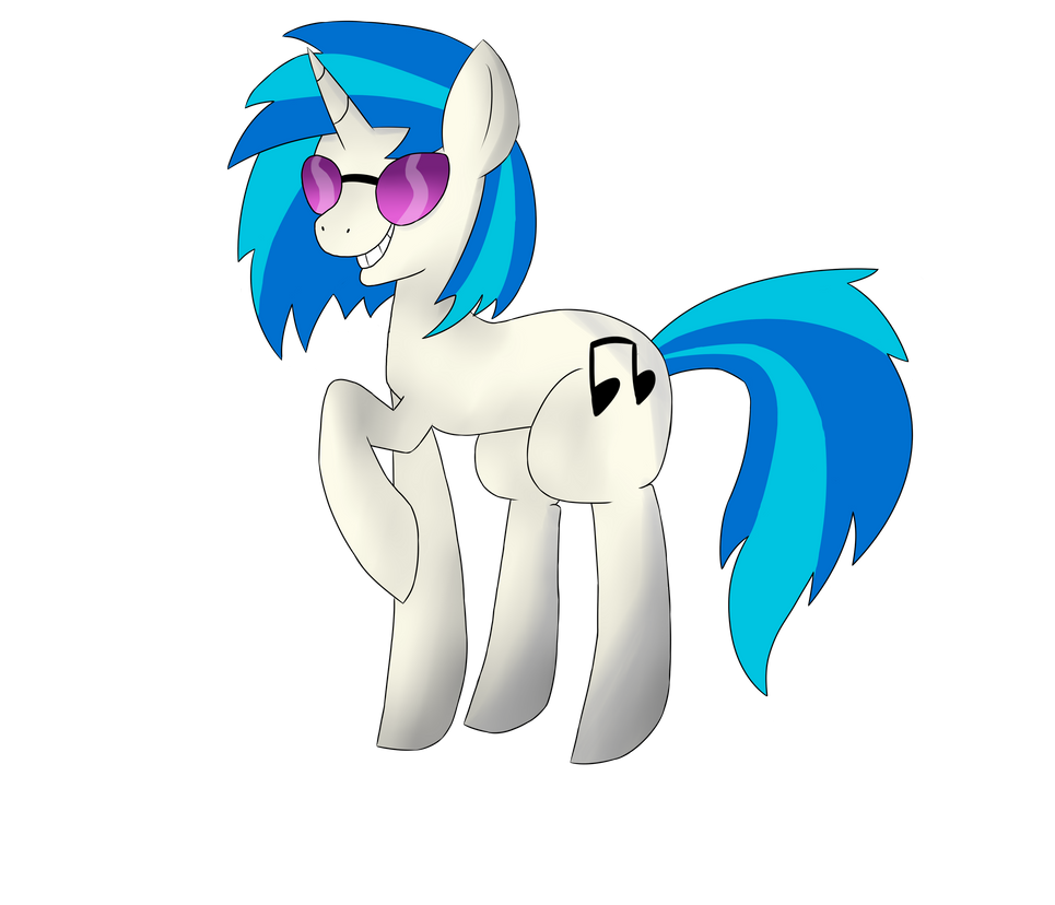 Vinyl Scratch by TheSydnieT