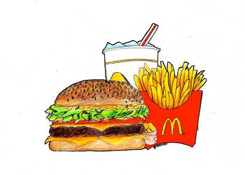 McDonald's by sellazel