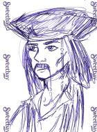 Jack Sparrow by ifihadacoconut