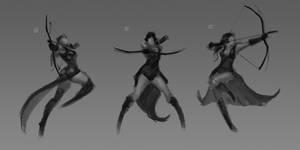 archer poses