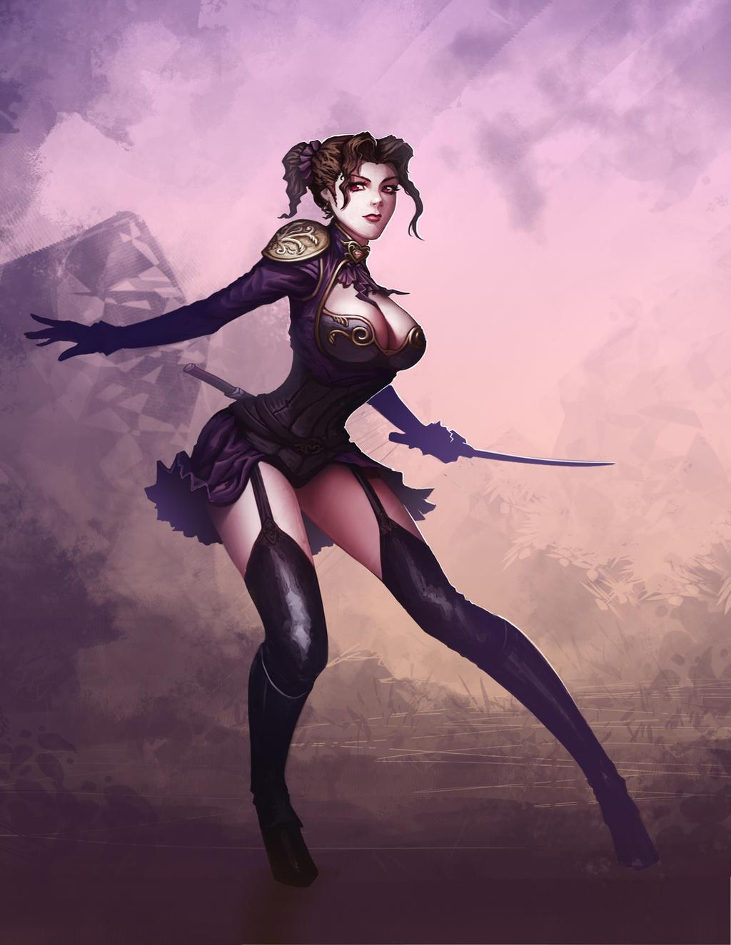 Assassin Elegante by bmd247