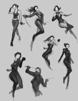 Fast Pose Sketch by bmd247