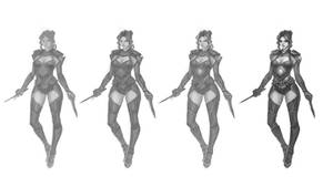 Character Progress by bmd247
