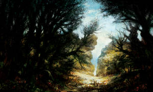 Dark Woods Study by JakobHansson