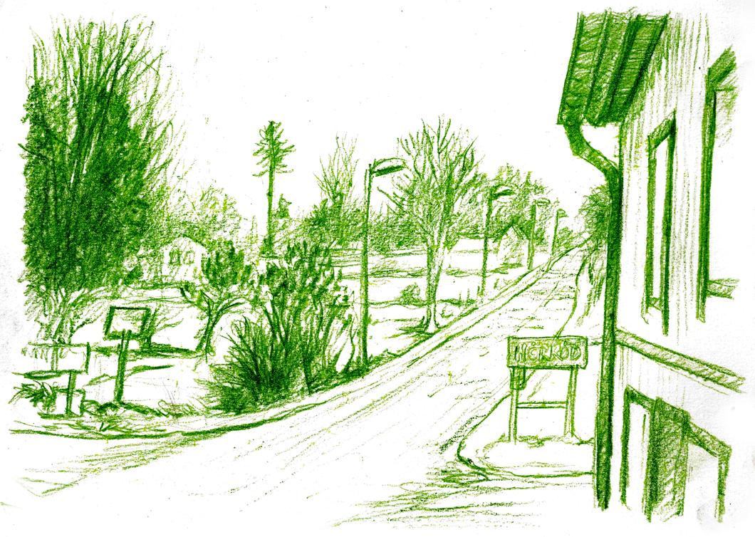 Drawing Sweden Horrod 01 by JakobHansson