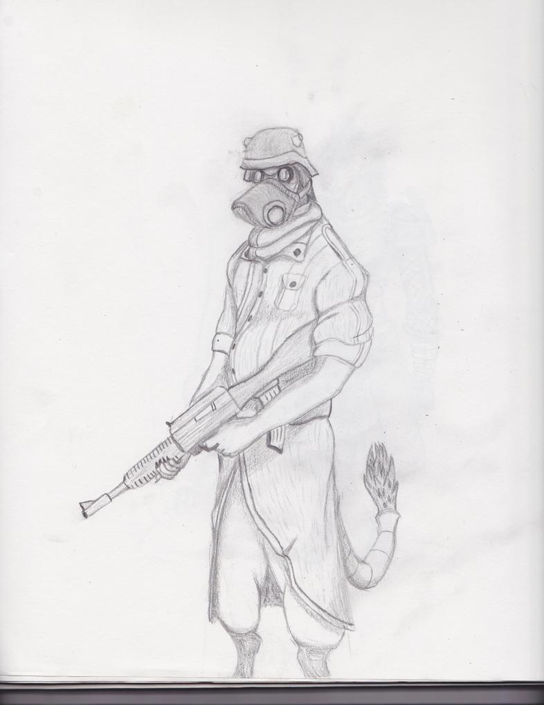 EotNS-A Soldier's Portrait by TALicous
