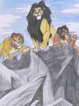 Mufasa, Ahadi and Taka