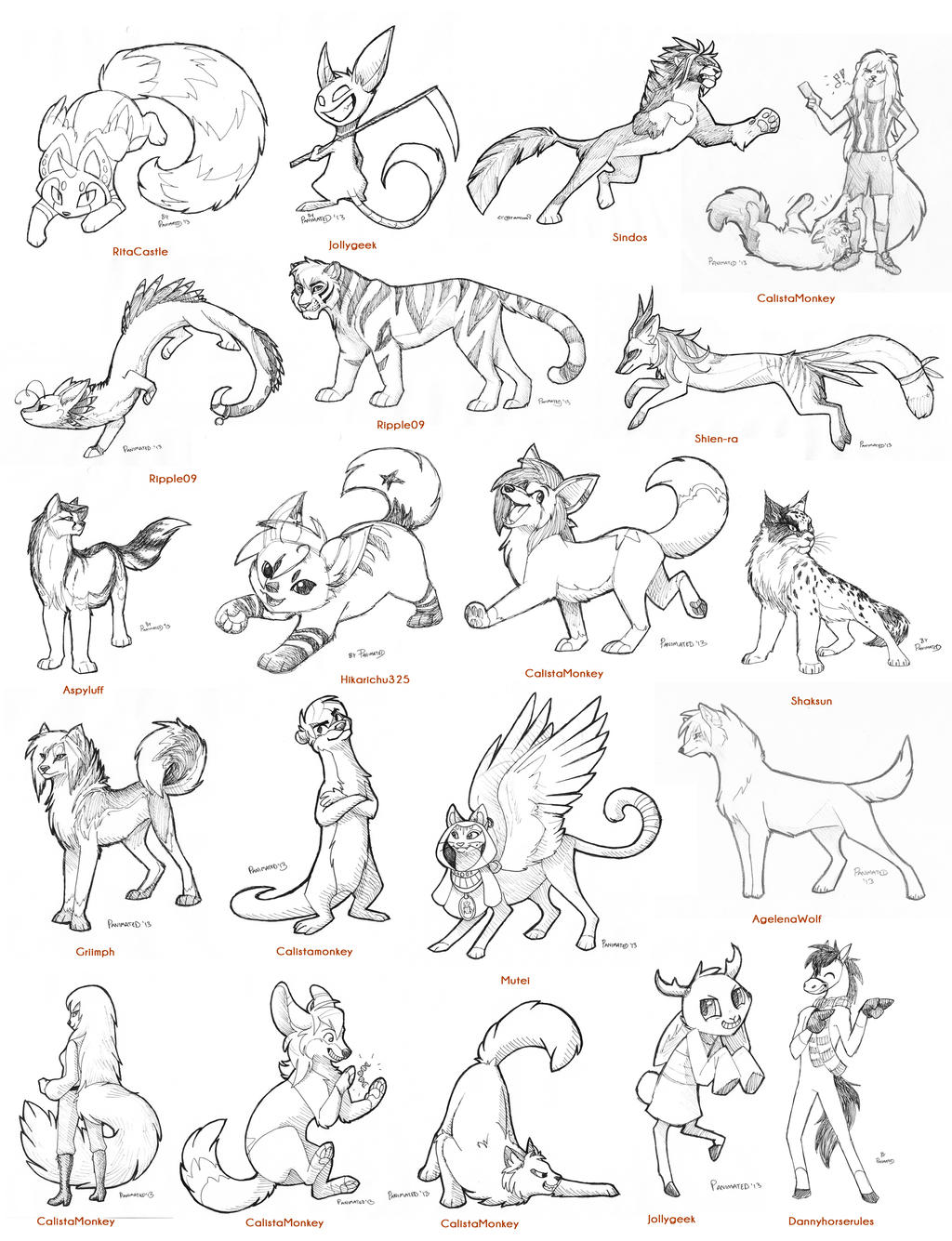 So Many Sketches! by Panimated