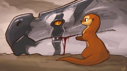 The Wyrm and the Otter