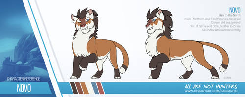 Novo reference sheet by Panimated