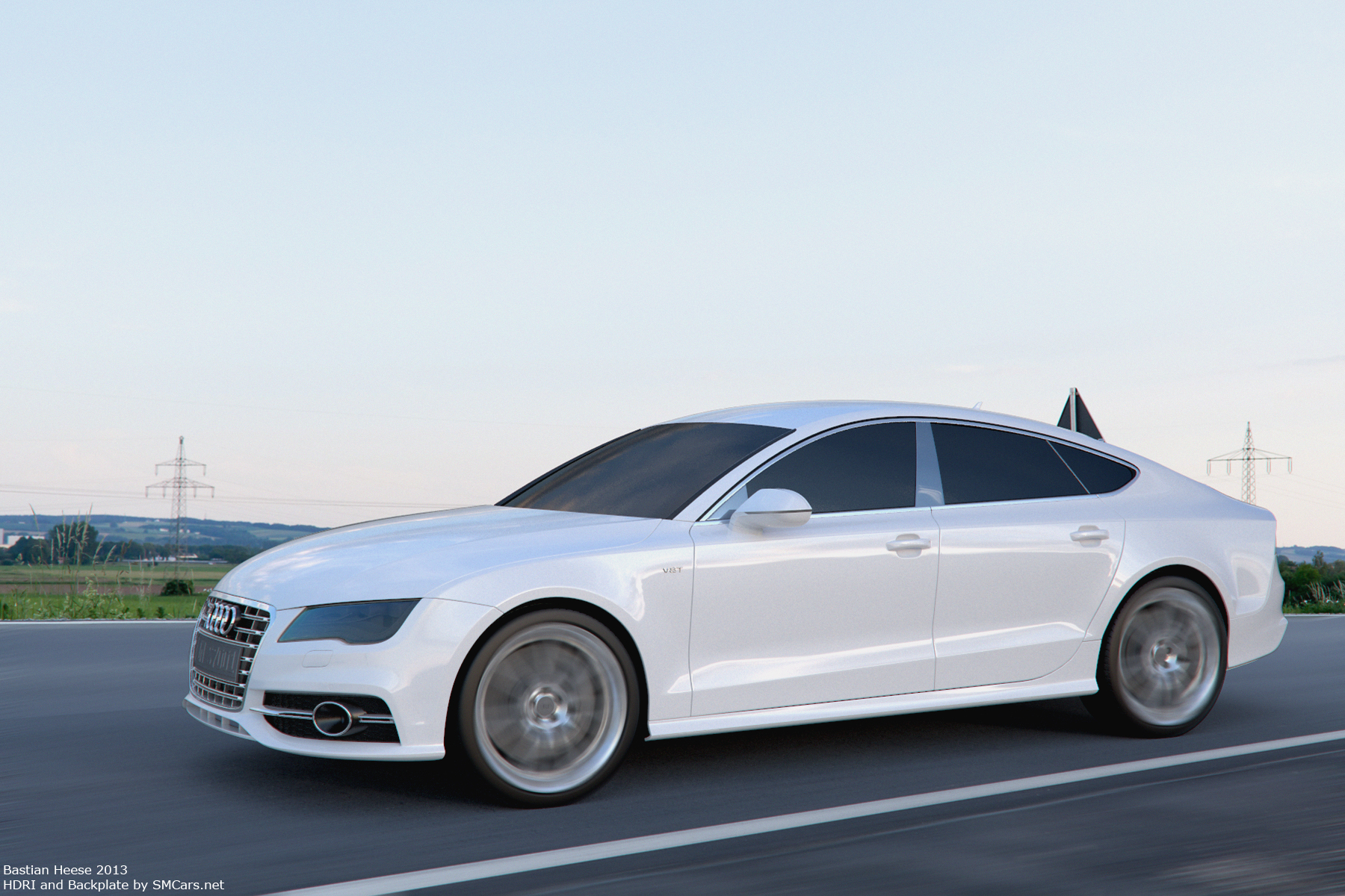 audi s7 sportback white by user121o on deviantart. Black Bedroom Furniture Sets. Home Design Ideas