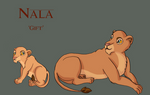 The Lions of Ndona - Nala by miniaturedreams