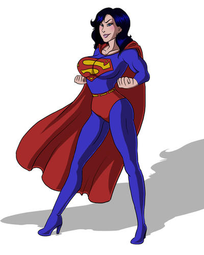 Superwoman Power Pose by FaeAmara