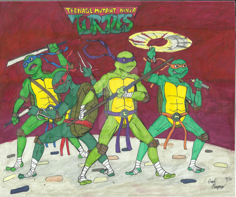 Ninja Turtles by TheInsaneDingo