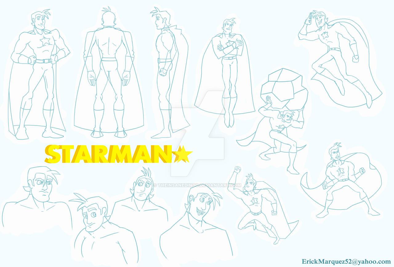 StarMan Character Sheet by TheInsaneDingo