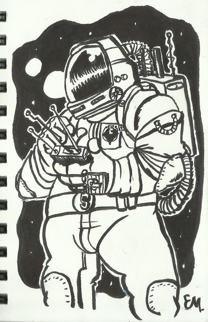 SpaceMan by TheInsaneDingo