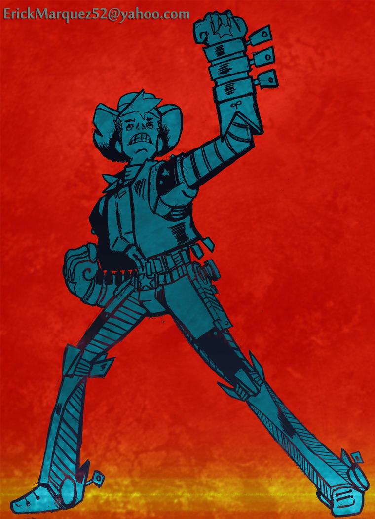 Robocowboy by TheInsaneDingo