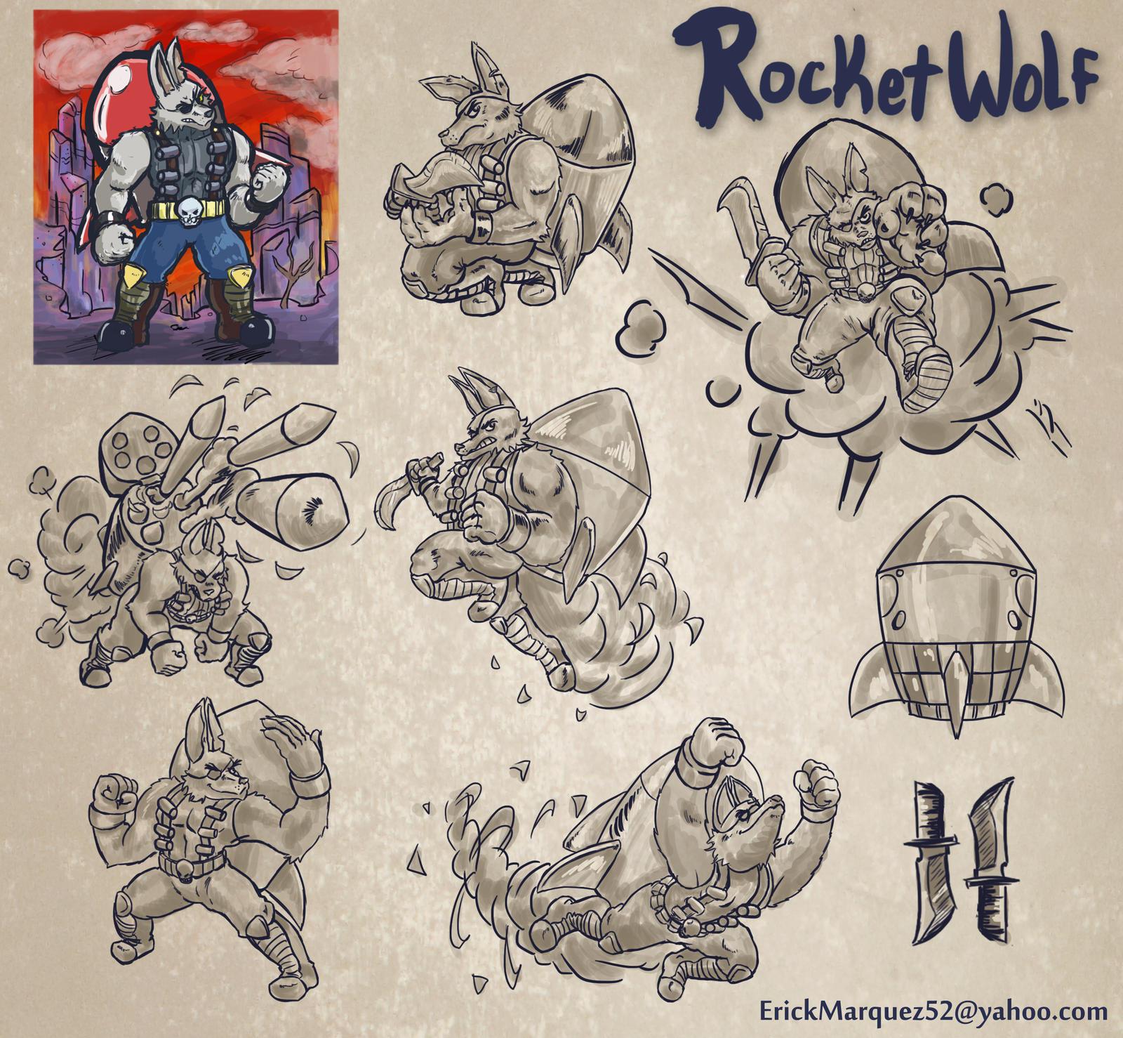 Rocketwolf Character Sheet by TheInsaneDingo