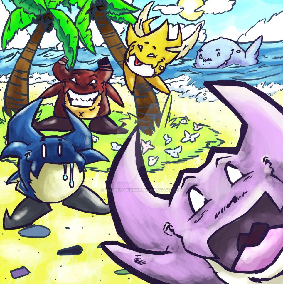Jolly Monsters. by TheInsaneDingo