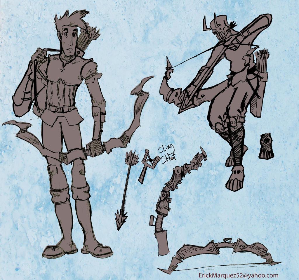 Archer Sketches by TheInsaneDingo