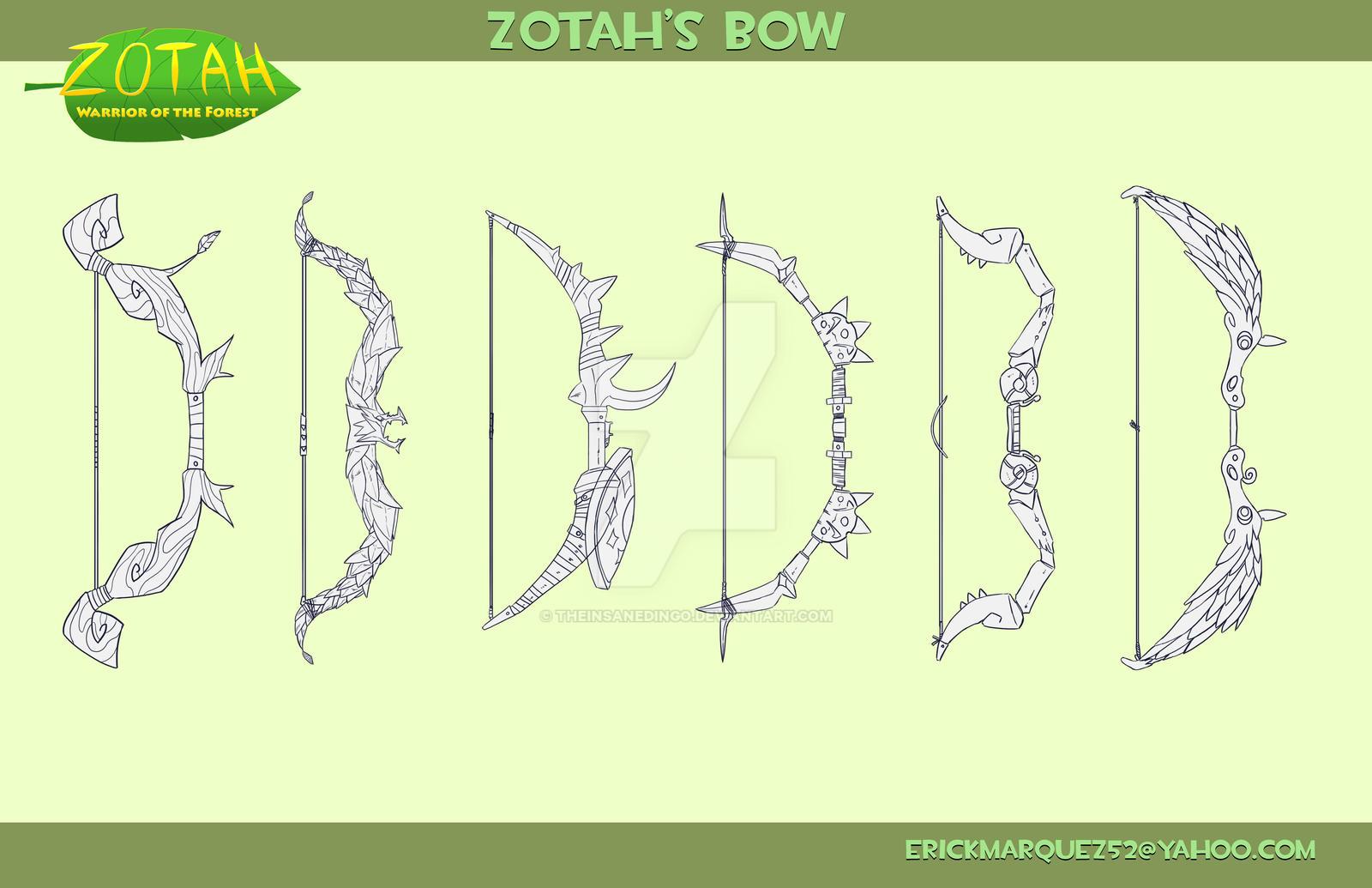 Zotah's Bow by TheInsaneDingo
