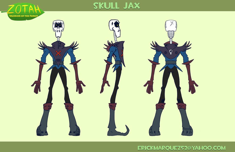 Skull Jax Turn Around by TheInsaneDingo