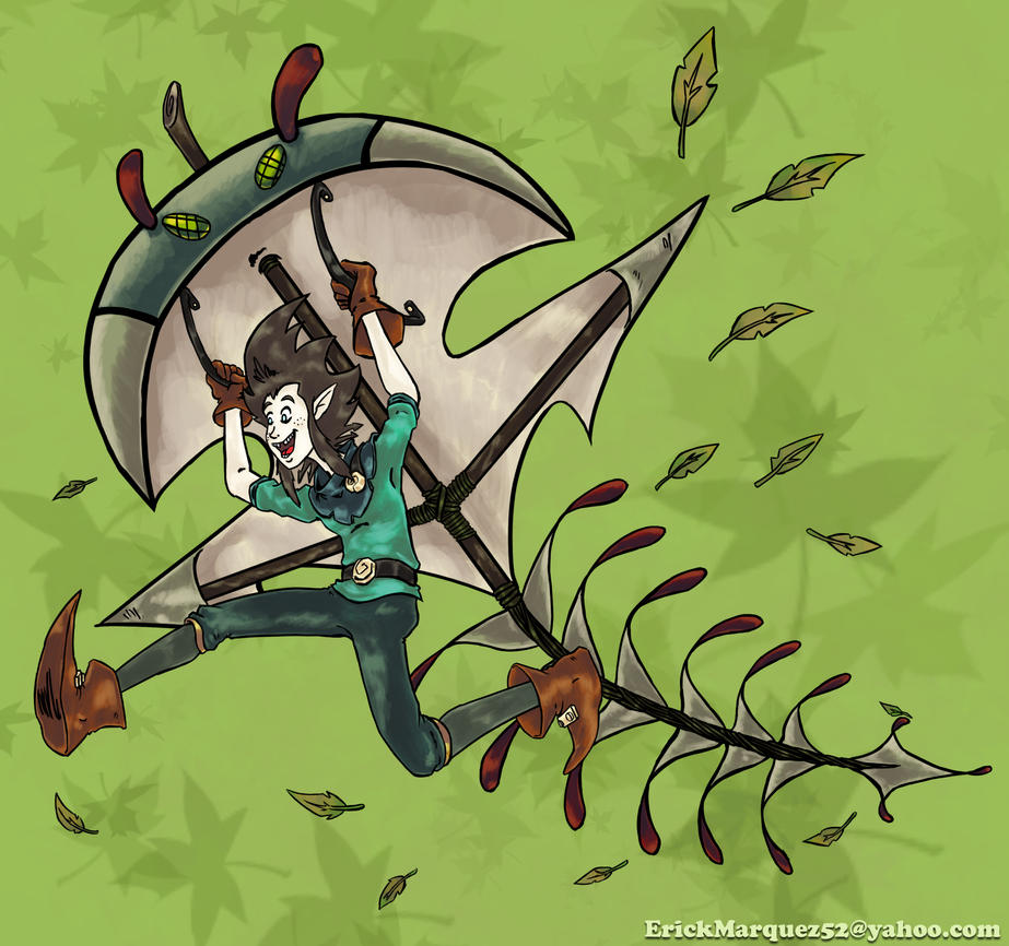 Zotah Bug Kite by TheInsaneDingo