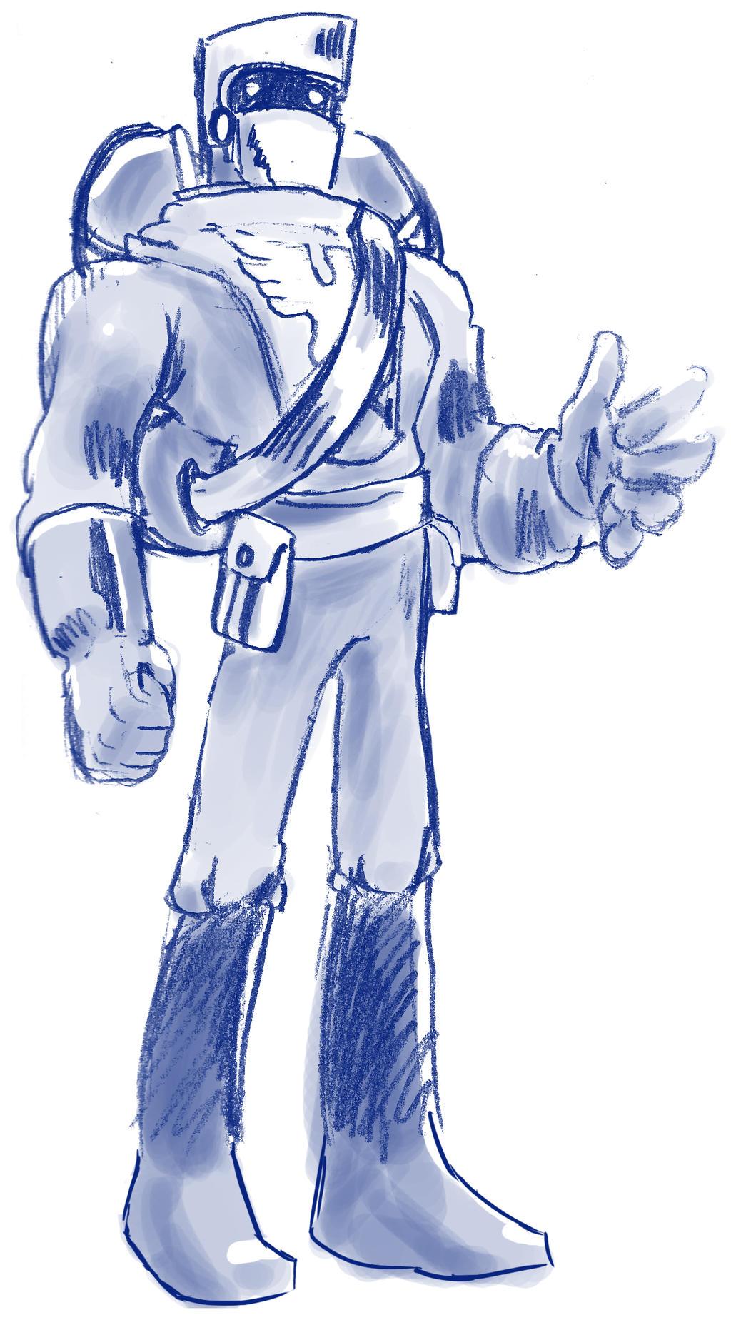 Knight by TheInsaneDingo