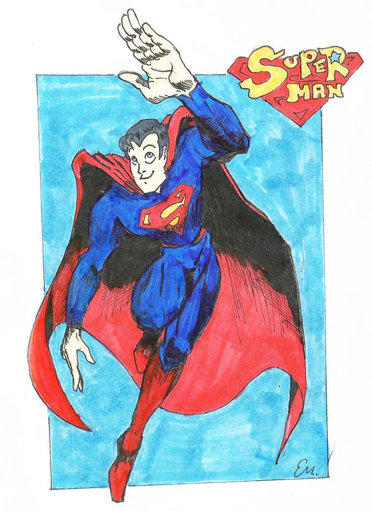 Super Man by TheInsaneDingo